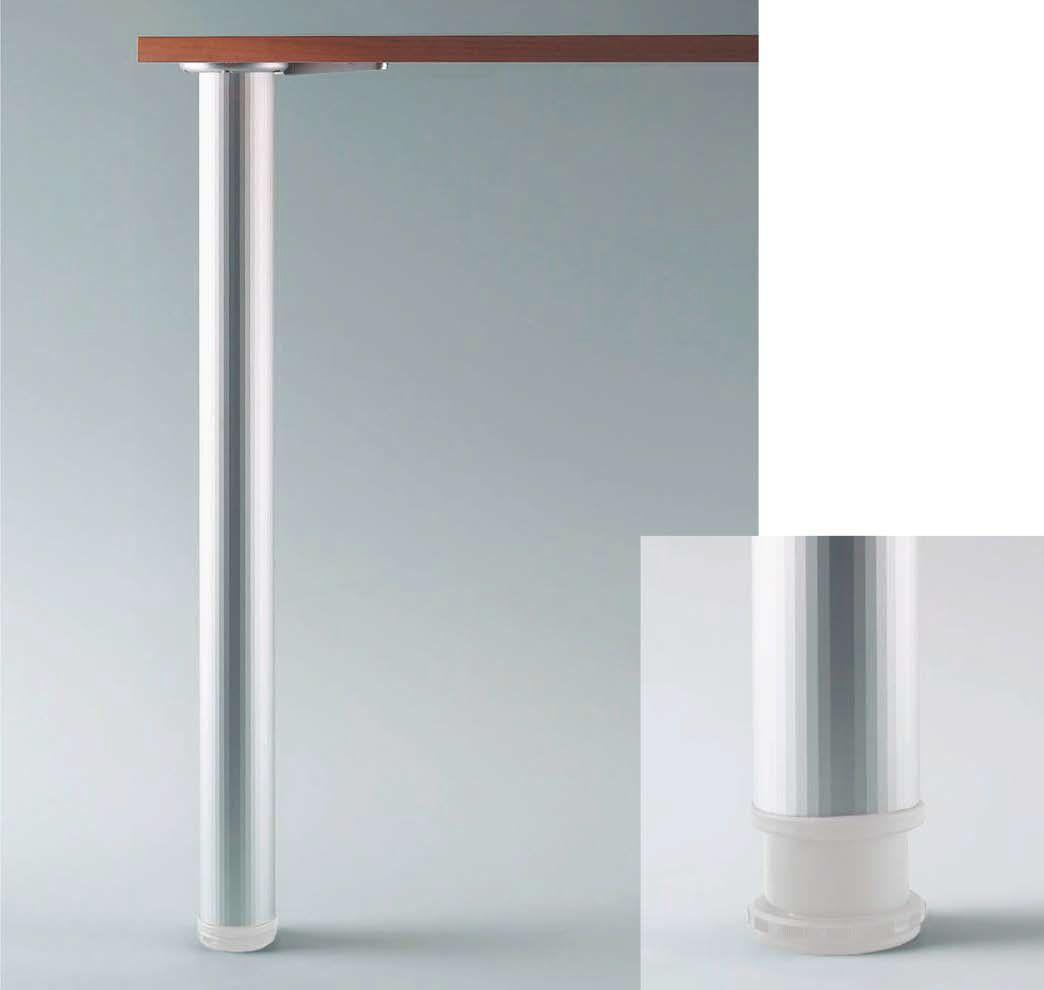 Design Tischbeine Alumina 1 O 60 H 705 Mm